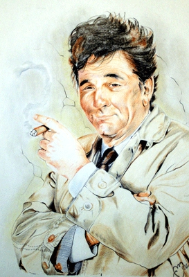 Peter Falk by Colorfarma